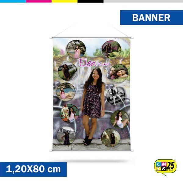 Detalhes do produto Banner 80x120cm