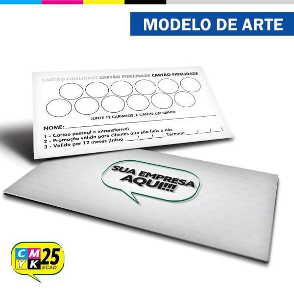 Detalhes do produto Cartão Fidelidade - 01