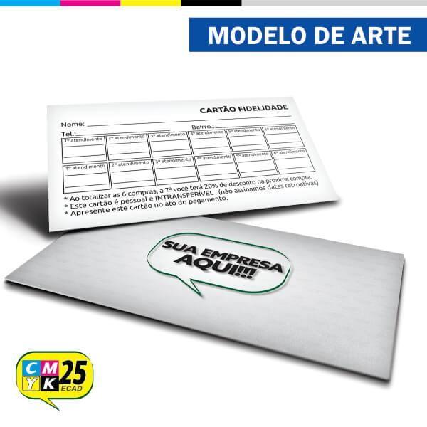 Detalhes do produto Cartão Fidelidade - 03