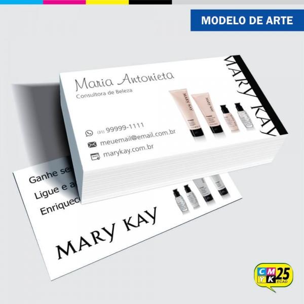 Detalhes do produto Cartão de Visita Mary Kay - 01