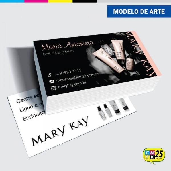 Detalhes do produto Cartão de Visita Mary Kay - 03