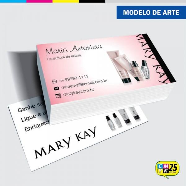 Detalhes do produto Cartão de Visita Mary Kay - 07