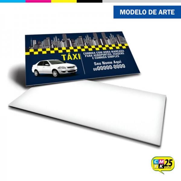 Detalhes do produto Cartão de Visita Táxi - 05