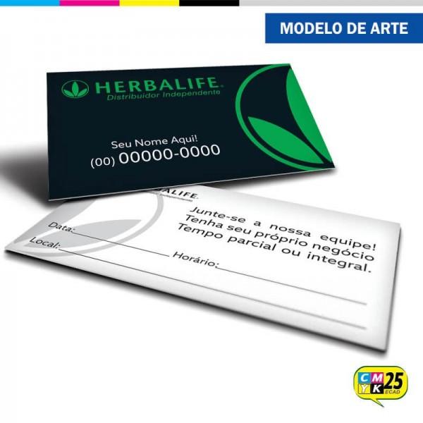 Detalhes do produto Cartão de Visita Herbalife - 01