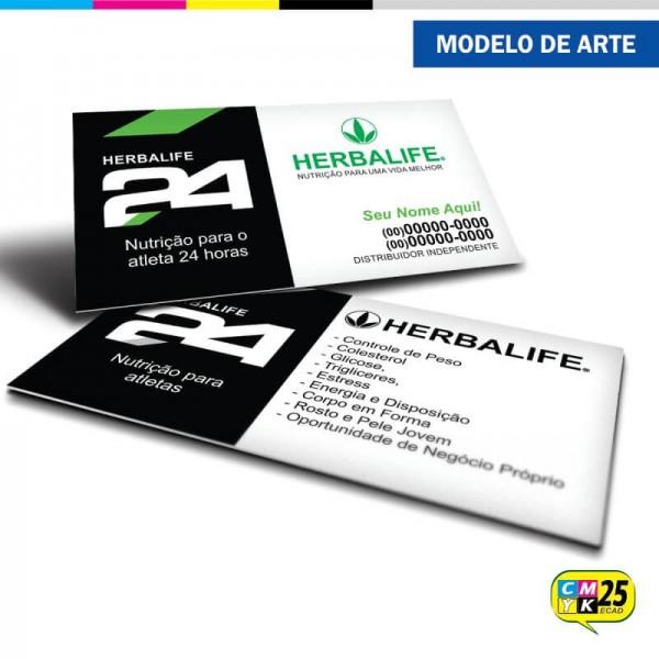 Detalhes do produto Cartão de Visita Herbalife - 04