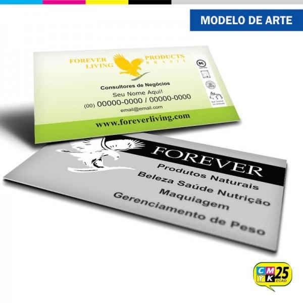 Detalhes do produto Cartão de Visita Forever Living - 03