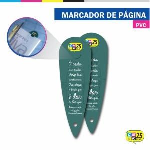 Detalhes do produto Marcador de Página em PVC
