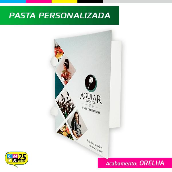 Detalhes do produto Pasta - 4x1 - Plastificada - Meia Lua